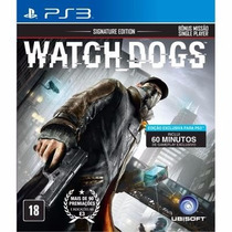 Jogo Watch Dogs Para Ps3 /semi Novo/barato!