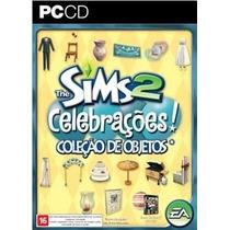 The Sims 2 Celebrações Coleção De Objetos Original Lacrado