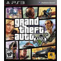 Grand Theft Auto V Gta 5 Ps3 Midia Fisica + Nf + Frete