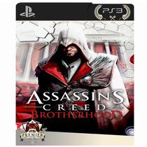 Assassins Creed Brotherhood - Ps3 Cod Psn - Leg. Português