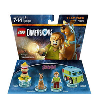 Lego Dimensions - Scooby Doo - Team Pack - Novo