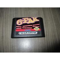 Fita Sega 6 Pak (6 Jogos) Mega Drive!! Original