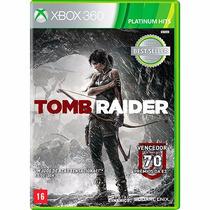 Tomb Raider Platinum Hits - Xbox 360, Midia Física, Novo