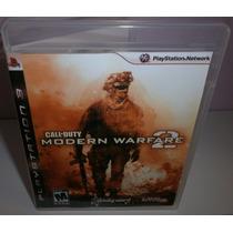 Call Of Duty Modern Warfare 2- Ps3 - Original Frete R$ 9,99