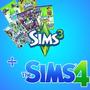 The Sims 3 Com Todas Expansões + The Sims 4 Com As Expansões