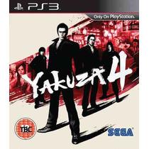 Yakuza 4 Ps3 - Código Psn Envio Via Email
