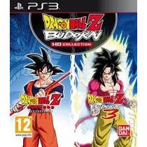 Dragon Ball Z Hd Budokai Collection Ps3 Mídia Física Lacrada
