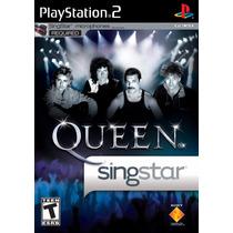 Jogo Singstar: Queen Original Para Playstation 2 A6628