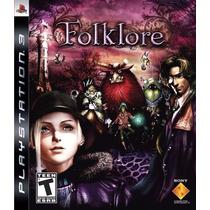 Jogo Novo Lacrado Folklore Para Playstation 3 Ps3