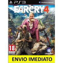 Jogo Digital Far Cry 4 Ps3 Código Psn Promoção