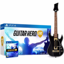 Guitar Hero Live Bundle - Ps4 (jogo + Guitarra) Novo Lacrado