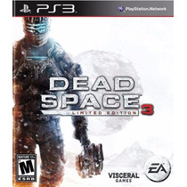 Dead Space 3 - Limited Edition, Ps3, Novo, Lacrado!