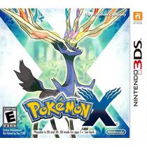 Pokemon X Version - Nintendo 3ds - Impecável !!!