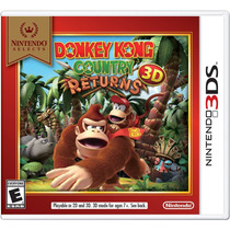 Donkey Kong Country Returns 3d 3ds Nintendo Original E-sedex