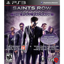 Saints Row The Third The Full Package - Ps3 - Original - Psn