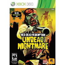Red Dead Redemption Undead N. Xbox 360 Original Mídia Física