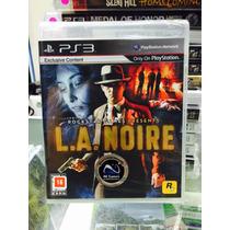 Jogo La Noire Playstation 3, Novo, Lacrado, Original