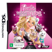 Barbie Groom And Glam Pups Nintendo Ds Nds Original Lacrado