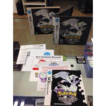 Pokemon Black Version Americano Ed Brasil Completo ! 3ds Nds