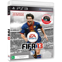 Jogo Fifa 13 Eletronic Arts Br Ps3 Ea42309bn R1