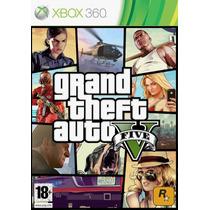Gta 5 V Xbox 360 Original Semi Novo No Box Com Garantia
