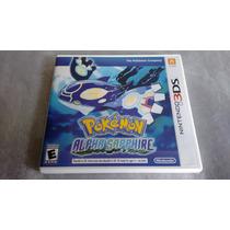 Pokémon Alpha Sapphire Americano 3ds