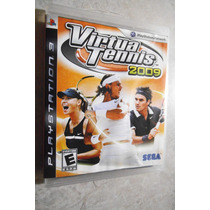 Virtua Tennis 2009 - Região 1 - Jogo Original Do Ps3