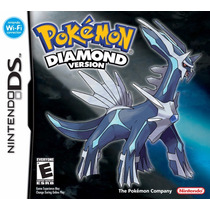 Jogo Pokemon Diamont Version Original Para Nintendo Ds A5545