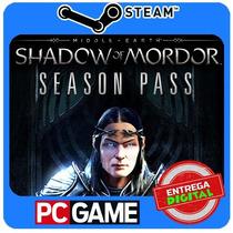 Shadow Of Mordor - Season Pass Dlc Pc Steam Cd-key Global