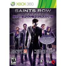 Saints Row The Third The Full Package Xbox 360 Lacrado Novo