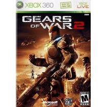 Gears Of Wars 2 Dvd Original Caixa Manual Em Português Xbox