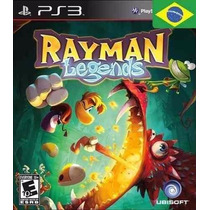Rayman Legends Ps3 Português Envio Imediato