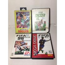 Coleção Fifa Soccer 94, 95, 96, 97 Mega Drive Leia Anuncio