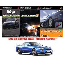 Battle Gear Collections - Playstation 2 Frete Gratis!!!