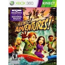 Jogo Kinect Adventures Xbox360 Original Lacrado-frete Grátis