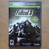 Fallout 3, Xbox 360. Jogo Americano Original Completo!