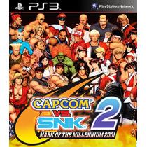 Capcom Vs Snk Ps3 Psn Midia Digital Original