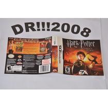 Encarte Harry Potter Goblet Fire Original P/ Nintendo Ds!!!