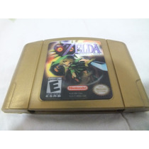 Zelda Majoras Mask Holográfico Original American N64 Caixa Ñ