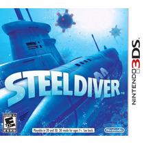 Jogo Game Steel Diver 3ds Nintendo Lacrado P. Entrega