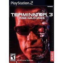 Jogo Ps2 - Terminator 3 - Rise Of The Machines