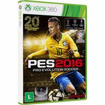 Pes 2016 Xbox 360 Português Midia Fisica Original Br Futebol