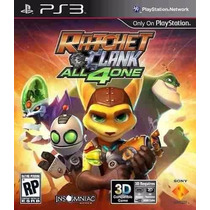 Ratchet And Clank All 4 In One Ps3 Lacrado Game Playstation