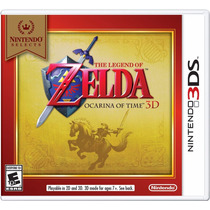 The Legend Of Zelda Ocarina Of Time 3d Nintendo 3ds E-sedex