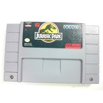 Cartucho Super Nintendo - Jurassic Park Original Americano