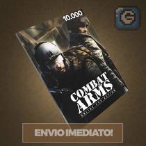 Combat Arms - Cartão De 10.000 Cash - Level Up - Imediato