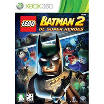 Jogo Do Xbox 360 Lego Batman 2: Dc Super Heroes