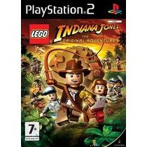 Lego Indiana Jones The Original Adve Ps2 Patch + 1 De Brinde