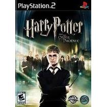 Harry Potter E A Ordem Da Fen Ps2 Patch Com Capa E Impressão
