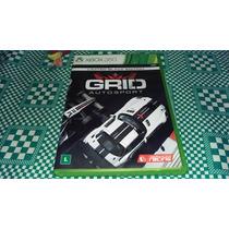 Grid Autosport Completo Original Americano Xbox360